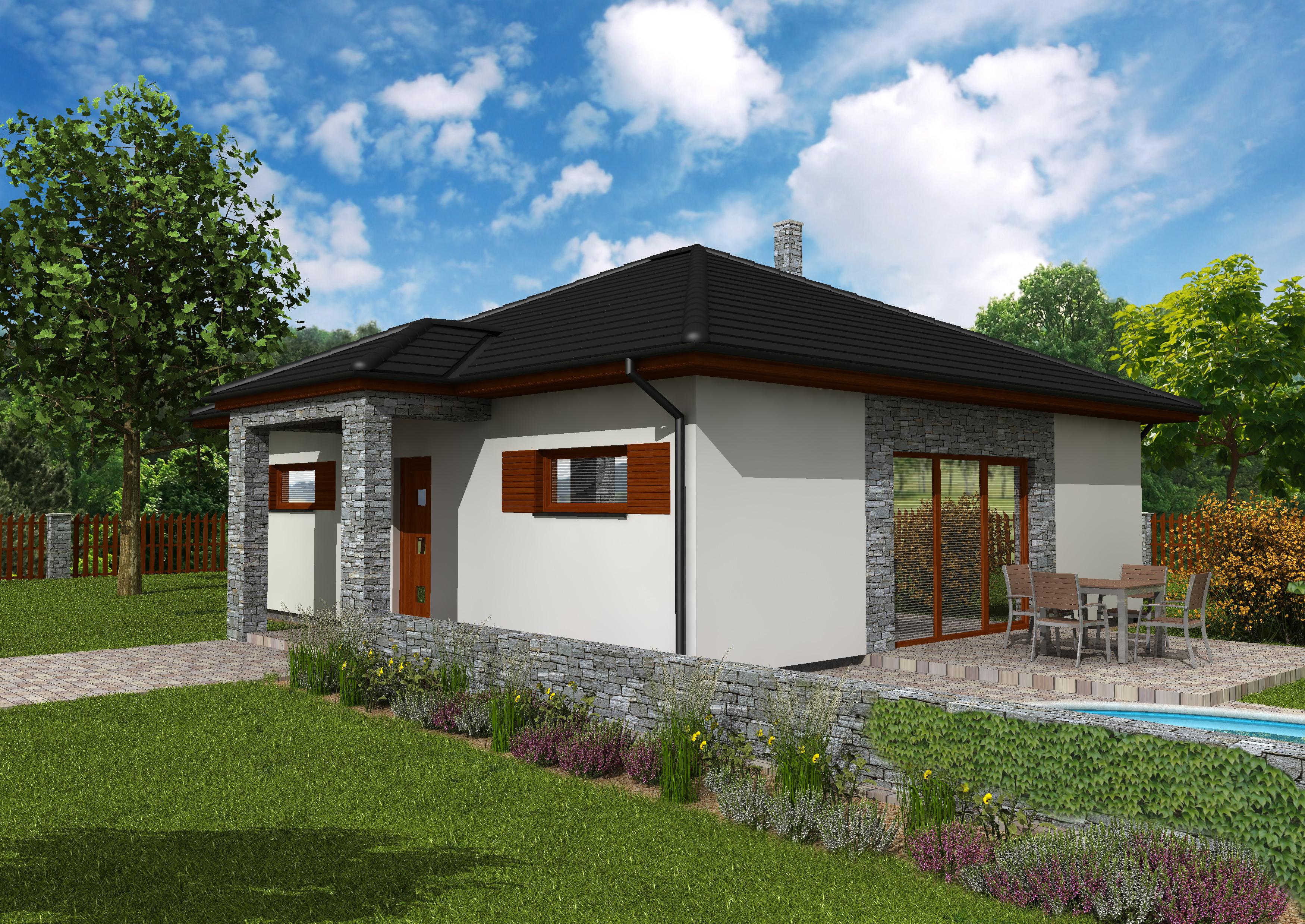 Přízemní rodinné domy na klíč
