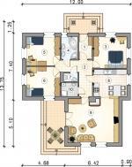 Rodinný dům Evka-přízemí