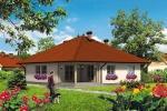 Přízemní rodinný dům-bungalov Slaměnka