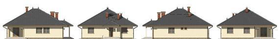 Montovaný rodinný dům Kalifornia-pohledy