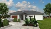 Luxusní dům AHAUS 2-3D pohled